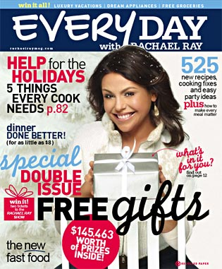 Rachel ray magazine1 Every Day with Rachael Ray only $4.50 a year {great gift}!