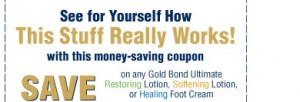 Gold Bond coupon