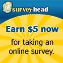 Surveyhead - get paid to take online surveys