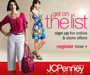 JC Penney list $10 JC Penney coupon