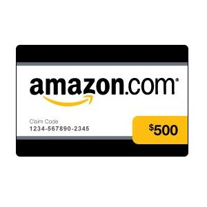 Free $500 Amazon Gift Card  Gift Card Samples Free