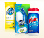pledge FREE full size Scrubbing Bubbles wipes + Pledge wipes + Windex wipes