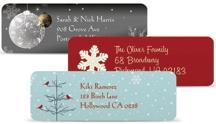 holiday return address labels 24 FREE photo greeting cards + 140 FREE address labels!