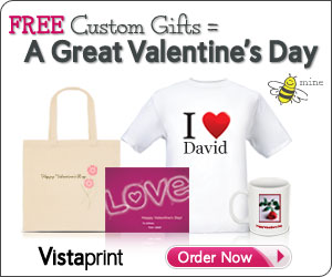 vistaprint valentine freebies 6 FREE Valentine's gifts!