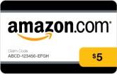 amazon $5 gift card