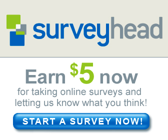 Get paid $5 to sign up to take surveys!