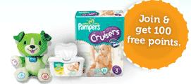 pampers gifts to grow FREE Pampers Gifts to Grow Code + 100 FREE points for new folks!