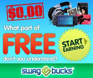 swagbucks banner Up to 1000 FREE Swag Bucks!