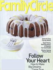 Family Circle magazine subscription Family Circle or Family Fun magazines $3.50 a year {limited quantities available}!