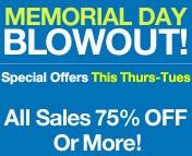 memorial day blowout sales