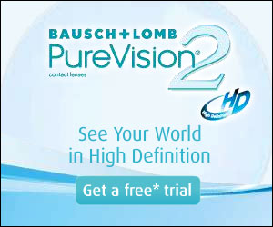 bausch and lomb free trial FREE trial pair of PureVision2 contacts!