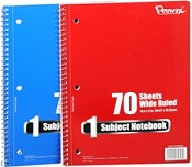 Free Spiral Notebook FREE 70 sheet Spiral Notebook {back to school deals}!