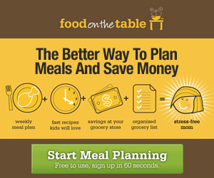 food on the table FEW HOURS LEFT! FREE meal planning subscription for life {rave reviews}!
