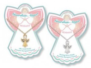 guardian angel 300x223 Guardian Angel Necklace $3 shipped {stocking stuffer, kids gift idea}!