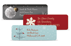 holiday labels 140 FREE holiday address labels {use for gift tags & kids labels too}!