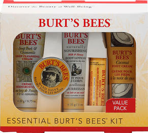 Burts Bees Kit *HOT* $10 FREE = Burts Bees 5 piece gift set $5 SHIPPED {plan ahead for holiday gifts}!