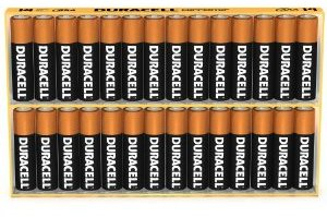 batteries Duracell batteries 20 pack $7 or 28 pack $10!