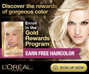 Loreal FREE full size LOreal Hair Products!