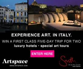 Artspace Italy GIVEAWAY: Win a 5 Day Trip to Italy, hurry!