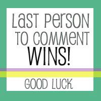 last person to comment wins SURPRISE gift card giveaway! ENTER HERE!