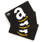 Amazon gift card giveaway FREE MP3 credits + $10 Amazon gift cards for $5!