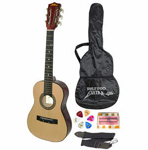 *HOT* Childrens Acoustic Guitar w/ Carrying Case, Pitch Pipe, Picks & Guitar Strap only $24.99 {orig. $102}!