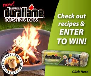 duraflame GIVEAWAY: Win a FREE Fire Pit & 24 Duraflame Log Bundles {$440 value, 3 winners}!