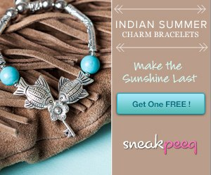 Indian Summer Charm Bracelet FREE Indian Summer Charm Bracelets {$69 value}!