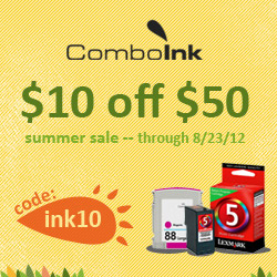 FEW DAYS LEFT! $2 Printer Ink {back to school}!