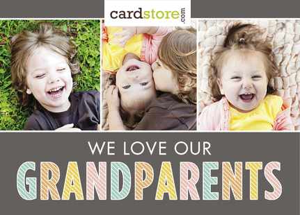 grandparents day card FINAL DAY! FREE Grandparents Day card with FREE shipping!