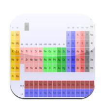 freeelements Free Periodic Table App for iPhone or iPad