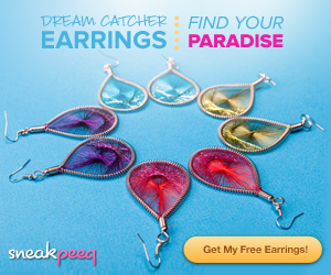 FREE Dream Catcher Earrings ($29 value)!