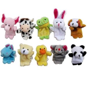 Kids 6   10 piece Finger Puppet Sets  $2   $3 SHIPPED {great for Easter baskets}!