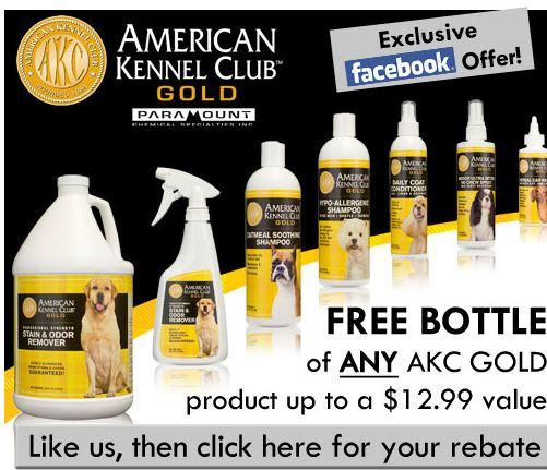 Free AKC Gold