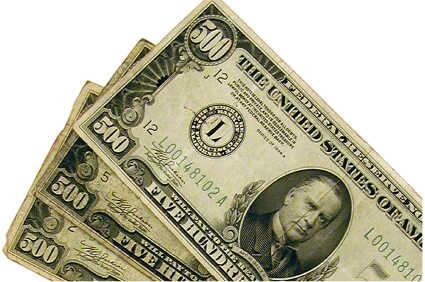 old 500 bills