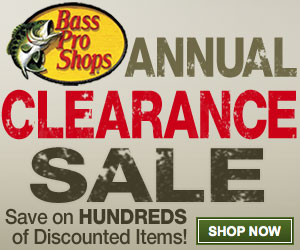 Bass Pro Shops Clearance Sale: 90% discounts! - Coupons and ...