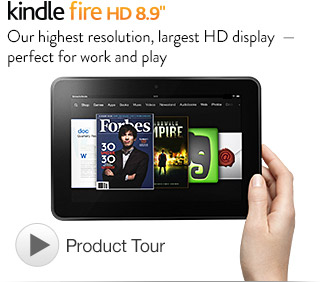 Kindle Fire HD 8.9 inch Kindle Fire HD 8.9 inch tablet: $30 coupon (save $30 on Kindle Fire HD)!