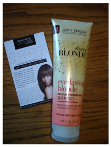 blonde2 226x300 Free Products for John Frieda Club Members!