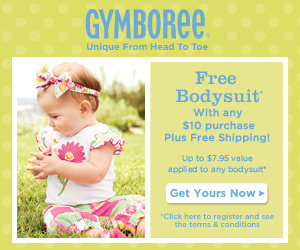 gymboree free bodysuit FREE Bodysuit from Gymboree!