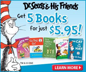 5 books dr seuss
