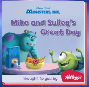 mike and sulley 300x295 FREE Monsters Inc EBook!