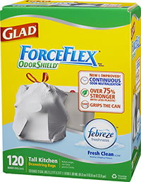 FREE Glad Forceflex Kitchen Trash Bags!