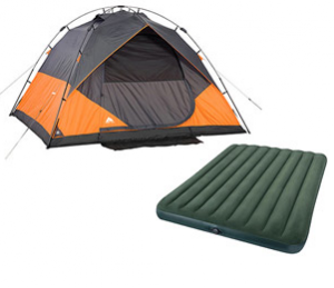 6 Person Tent and Air Bed 300x259 6 Person Tent and Air Bed Only $85 Shipped at Walmart!