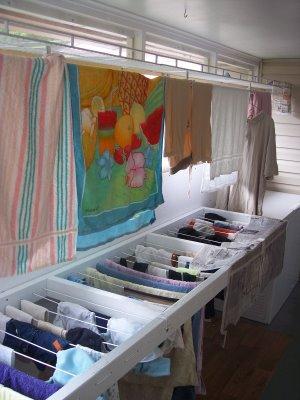 air dry laundry rack photo