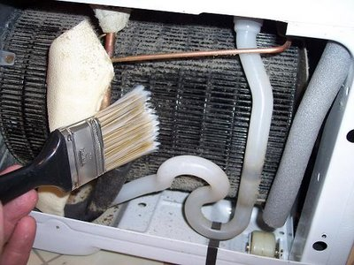 clean fridge air conditioner