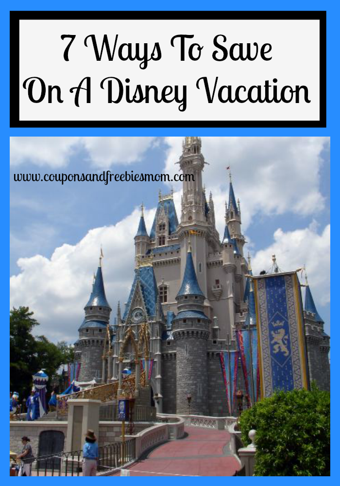 7 Ways To Save On A Disney Vacation