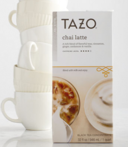 tazochai 261x300 Tazo Chai Coupons + Deals!