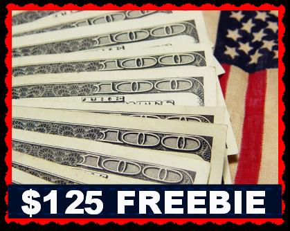 125 freebie $125 FREEBIE!