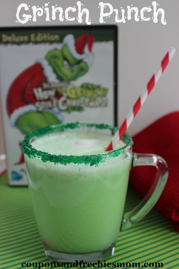 Green Grinch Punch