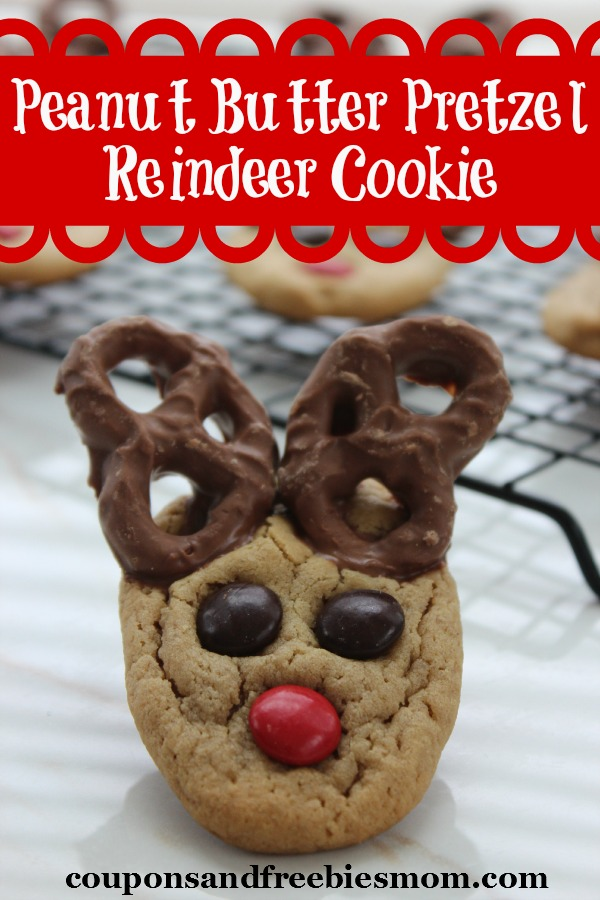 Peanut Butter Pretzel Reindeer Cookie Coupons And Freebies Mom